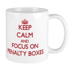 Keep Calm and focus on Penalty Boxes Mugs