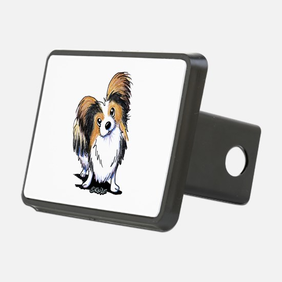 Tricolor Papillon Hitch Cover