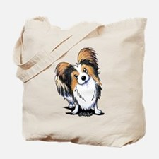 Tricolor Papillon Tote Bag