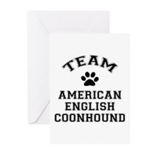 Team Coonhound Greeting Cards (Pk of 10)