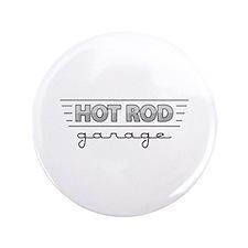 """Hot Rod Garage 3.5"""" Button"""