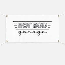 Hot Rod Garage Banner