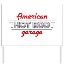 American Hot Rod Garage Yard Sign