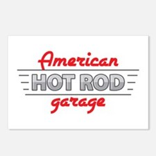 American Hot Rod Garage Postcards (Package of 8)