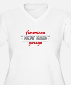 American Hot Rod Garage Plus Size T-Shirt