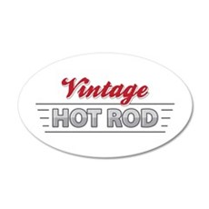 Vintage Hot Rod Wall Decal