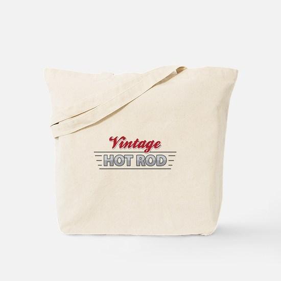 Vintage Hot Rod Tote Bag