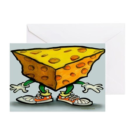 Cheese Head Yard Greeting Cards