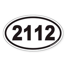 2112 Euro Oval Decal