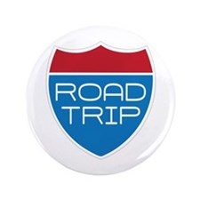 "Road Trip 3.5"" Button"