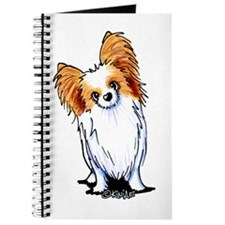 Red Sable Papillon Journal