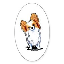 Red Sable Papillon Decal