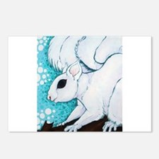 White Squirrel Postcards (Package of 8)
