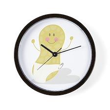Baby Peanut Wall Clock