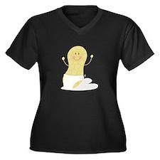 Baby Peanut Plus Size T-Shirt