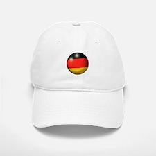 German Flag Soccer Ball Baseball Baseball Cap