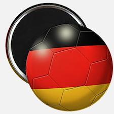 German Flag Soccer Ball Magnet