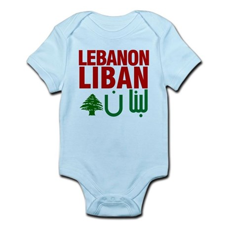 Lebanon Liban Libnan | Infant Bodysuit
