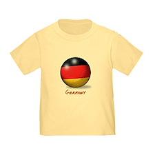 Germany Flag Soccer Ball T