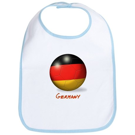 Germany Flag Soccer Ball Bib