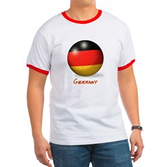 Germany Flag Soccer Ball T