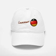 Germany Flag Soccer Ball Baseball Baseball Cap