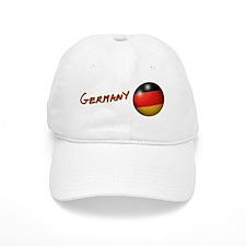 Germany Flag Soccer Ball Baseball Cap