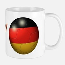 Germany Flag Soccer Ball Mug