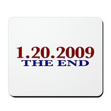 1-20-2009 The End Mousepad