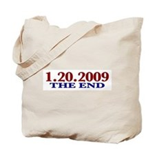 1-20-2009 The End Tote Bag