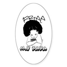Free My Baba Oval Decal