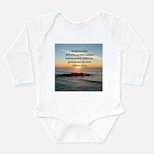 GALATIANS 5:22 Long Sleeve Infant Bodysuit