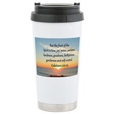 GALATIANS 5:22 Travel Mug