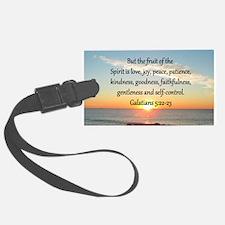 GALATIANS 5:22 Luggage Tag
