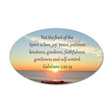 GALATIANS 5:22 Wall Decal