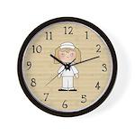Military Woman Wall Clock