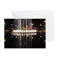 """Fountain Reflection"" Greeting Cards (Pk of 10"