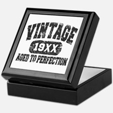 Personalize Vintage Aged To Perfection Keepsake Bo