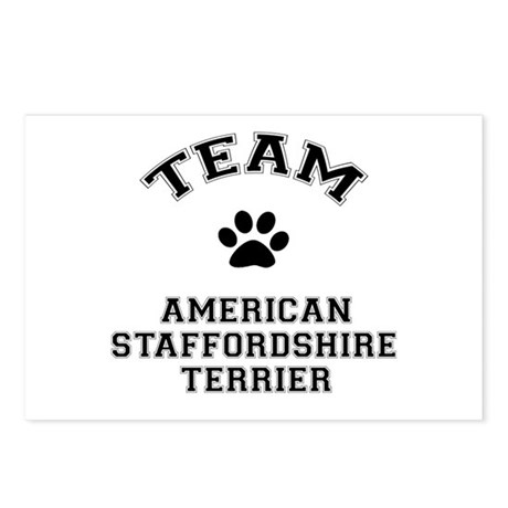 Team Staffordshire Terrie Postcards (Package of 8)