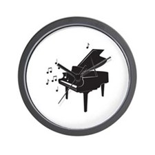 Grand Piano Wall Clock