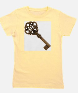 Ornamental Antique Key Girl's Tee