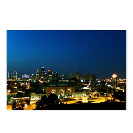 """""""Vivid City"""" Postcards (Package of 8)"""