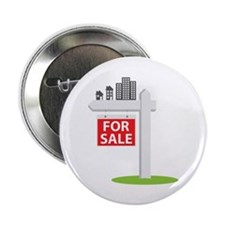"""For Sale 2.25"""" Button (100 pack)"""
