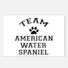 Team Water Spaniel Postcards (Package of 8)