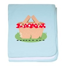 Picnic Basket baby blanket
