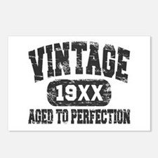 Personalize Vintage Aged To Perfection Postcards (