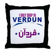 Shopping in Verdun | Throw Pillow