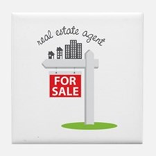 Real Estate Agent Tile Coaster