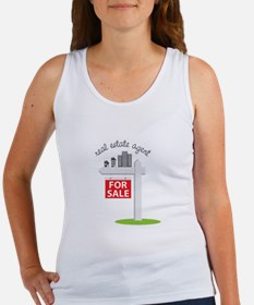 Real Estate Agent Tank Top