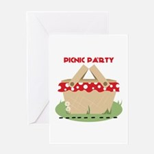 Picnic Party Greeting Cards